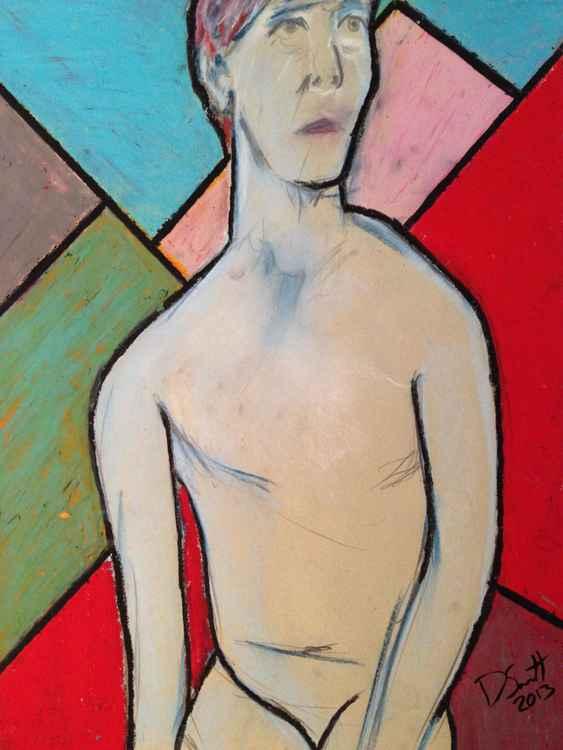 Study of a female nude (mastectomy) II