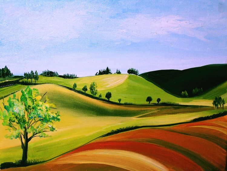 Green hills - Image 0