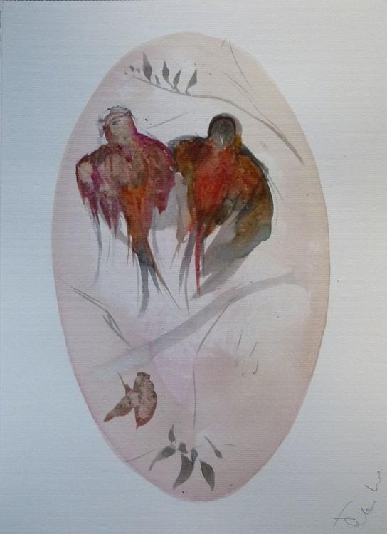 Birds of Carros #6, 29x41 cm - Image 0