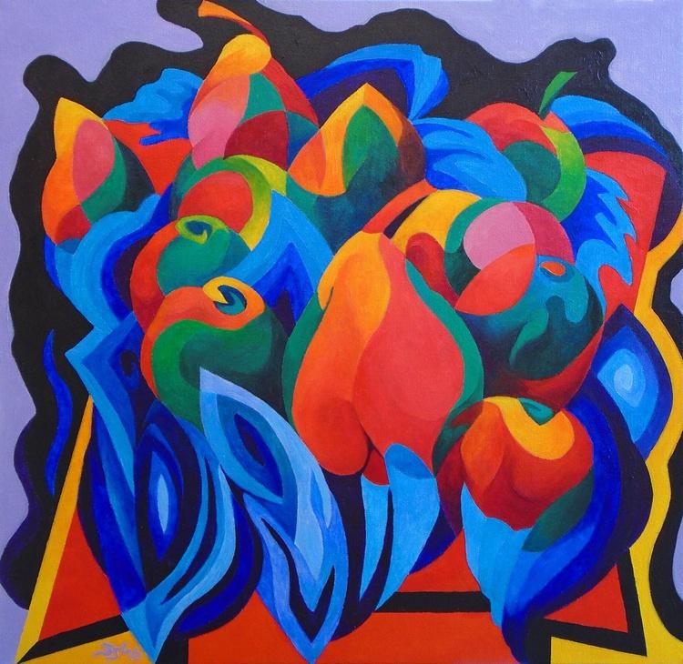 Still Life: Apples & Pears - Image 0