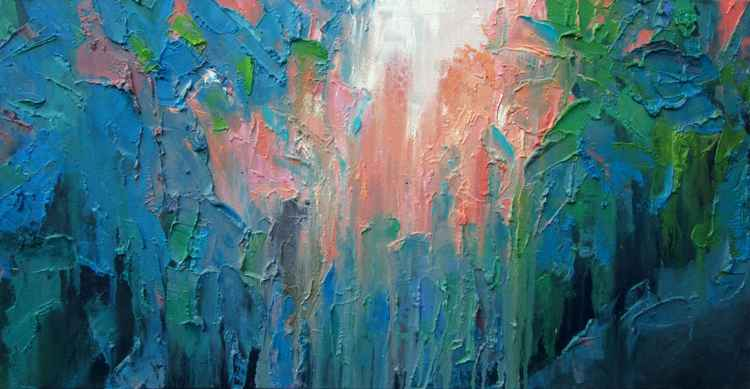 Pink Depth -III -