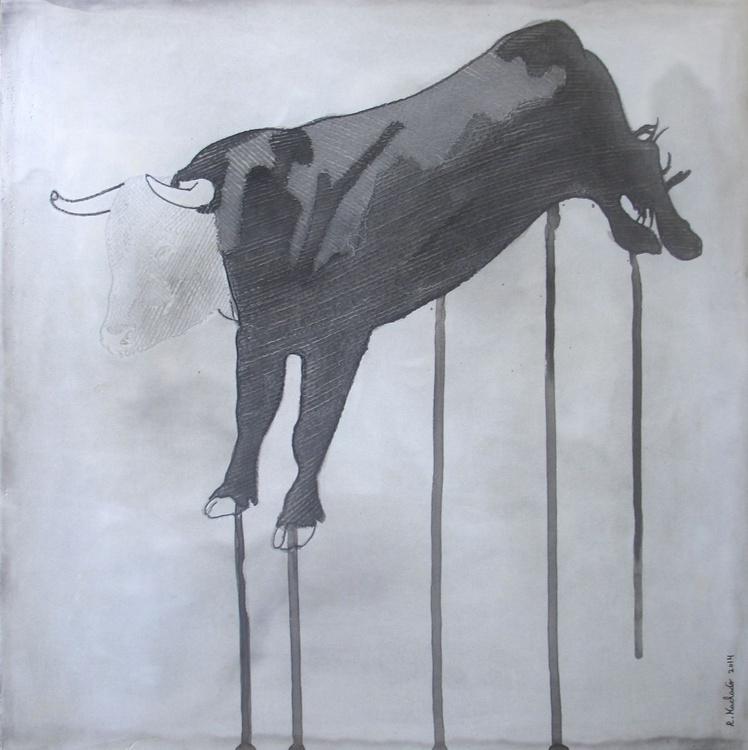 Bull Carved I - Image 0
