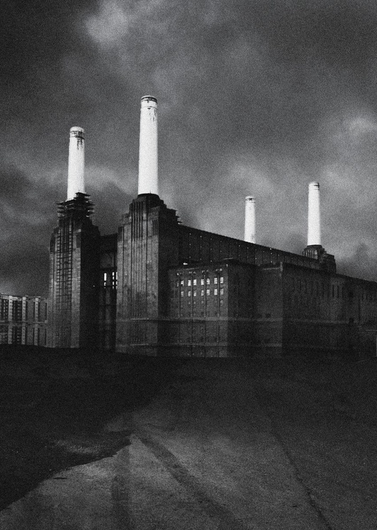 London Photos: Battersea - A2 Edition of only 20, London Monochrome Photography Series - Image 0