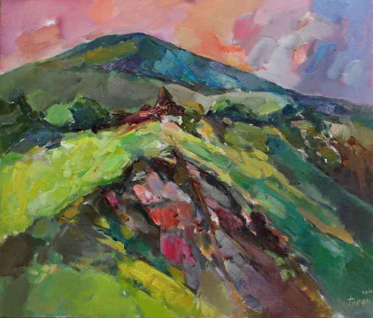 Evening (Pink stone) -
