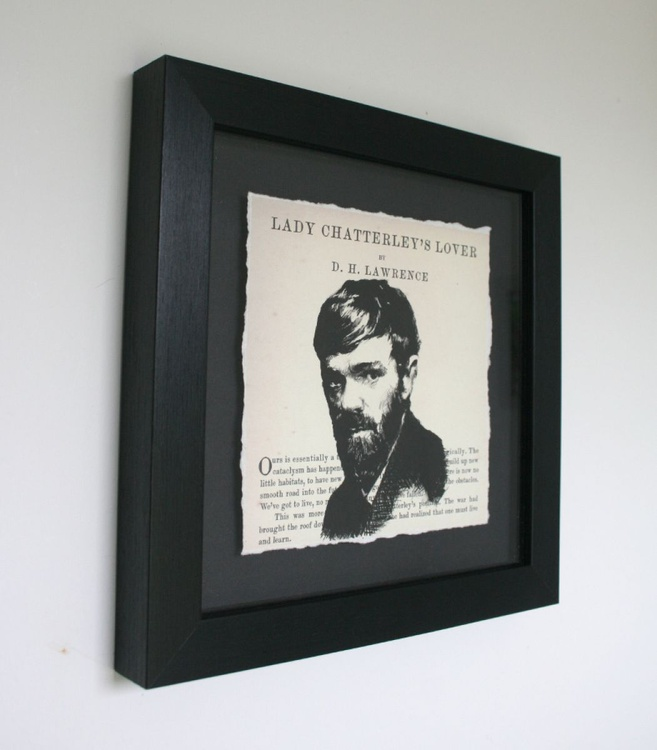 D.H. Lawrence - Lady Chatterley's Lover (Framed) - Image 0