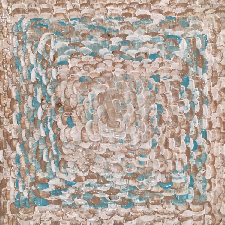"""""""TURQUOISE LOVE FRAME"""" - Image 0"""
