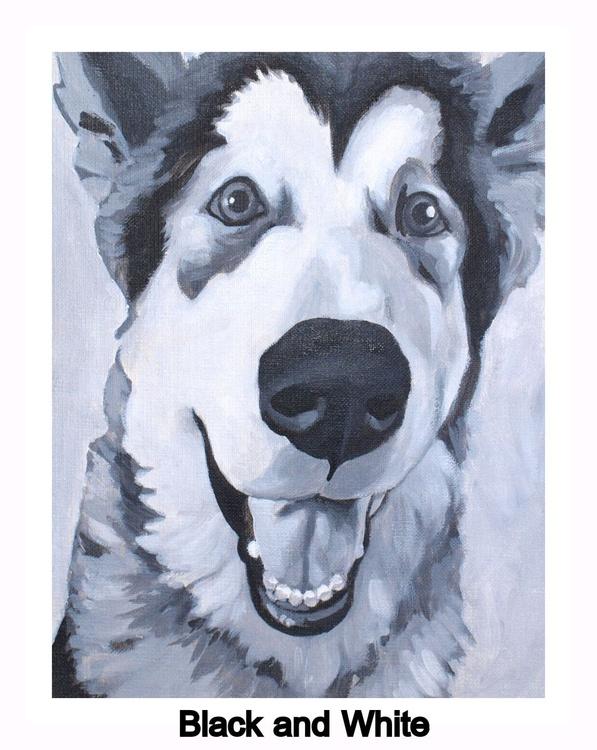 Custom Pet Portrait 24x30 - Image 0