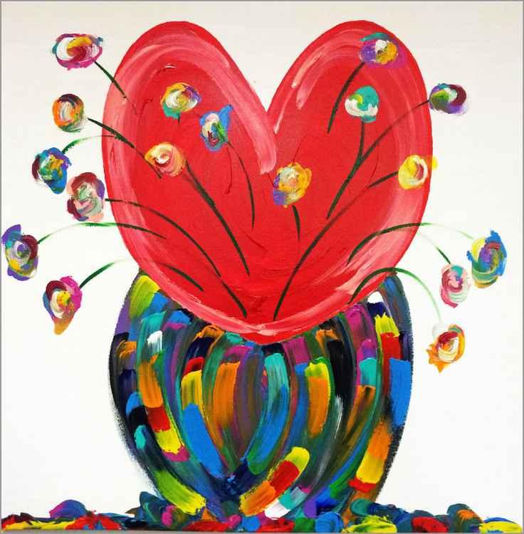 Heart & Flowers -