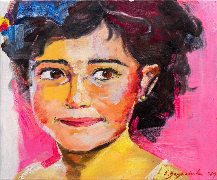 """""""Little girl"""", series """"FACES"""" - Image 0"""