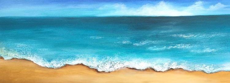 Turquoise Sea, seascape - Image 0