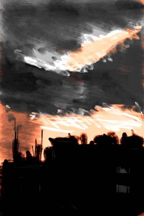 Clouds over Struggle street -