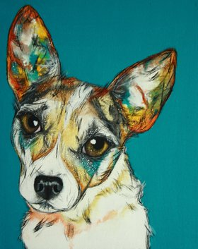 Rat Terrier by shanny schmidt