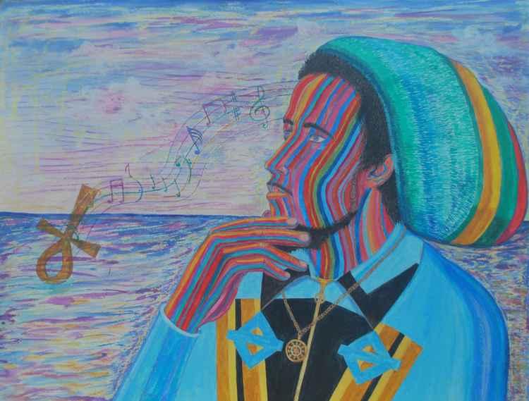 Bob Marley in Vision -