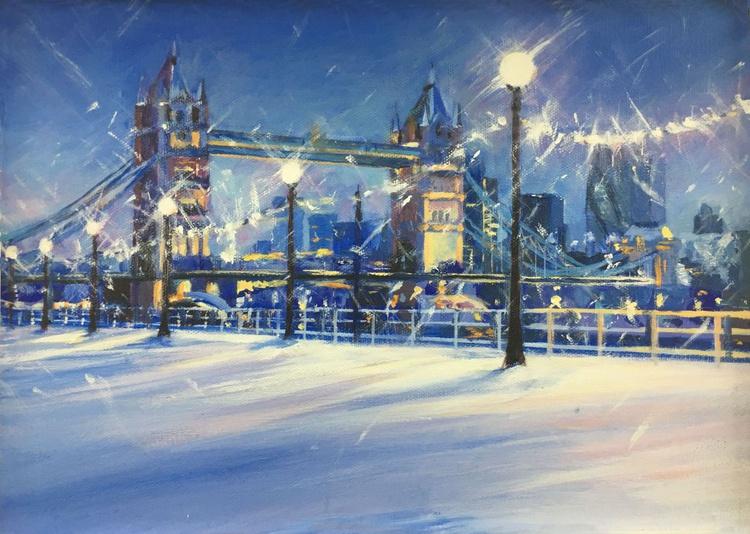 Tower Bridge in the Snow - Image 0