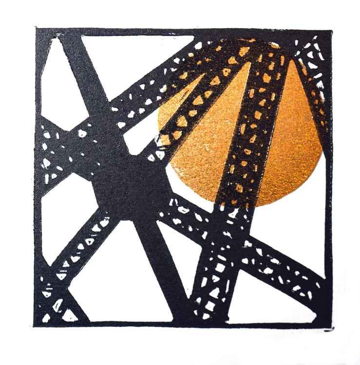 Clydebank crane detail 1