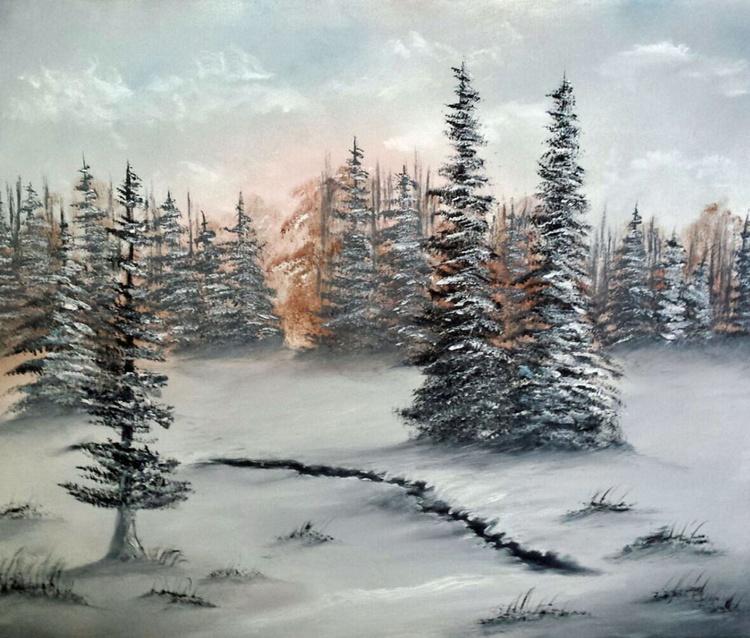 Sunset Winter Wonderland - Image 0