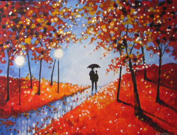 Autumn Evening Rain - Image 0