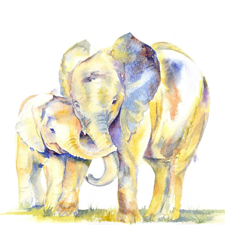 Elephant Hug - Image 0