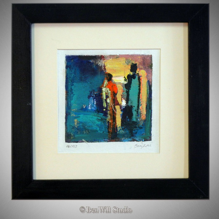 Daily Painting 16003 Framed 14x14 - Image 0