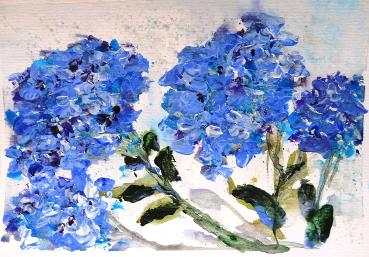 Collected In Late Summer ~ English impressionist painter - Image 0