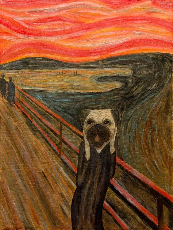 Edvard Pugch – The PugScream - Image 0
