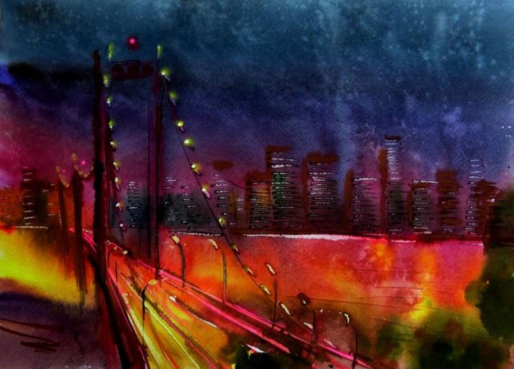 night bridge - Image 0