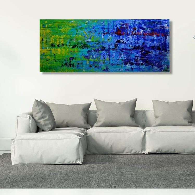 Color Rush III (120 x 50 cm) - Image 0