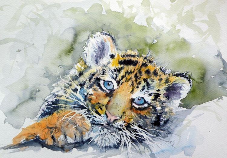 Cute tiger cub - Image 0