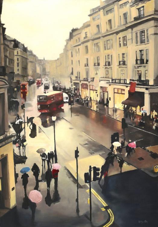 Rain on Regent Street - Image 0