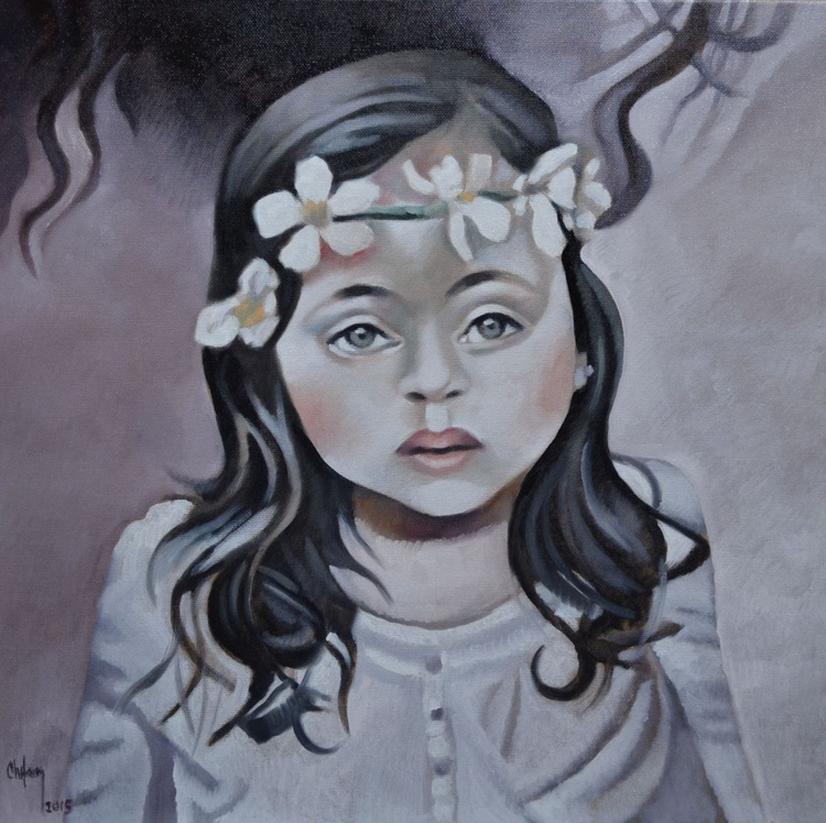 PORTRET OF A LITTLE GIRL - Image 0
