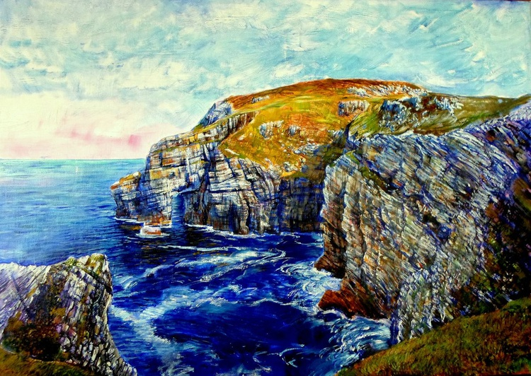 By The Cliffs - Image 0