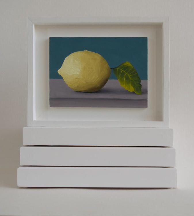 Still life with lemon, friendship  miniature - Image 0