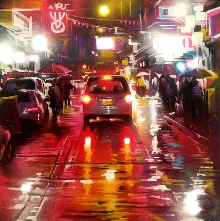 'Side streets - Hong Kong' -