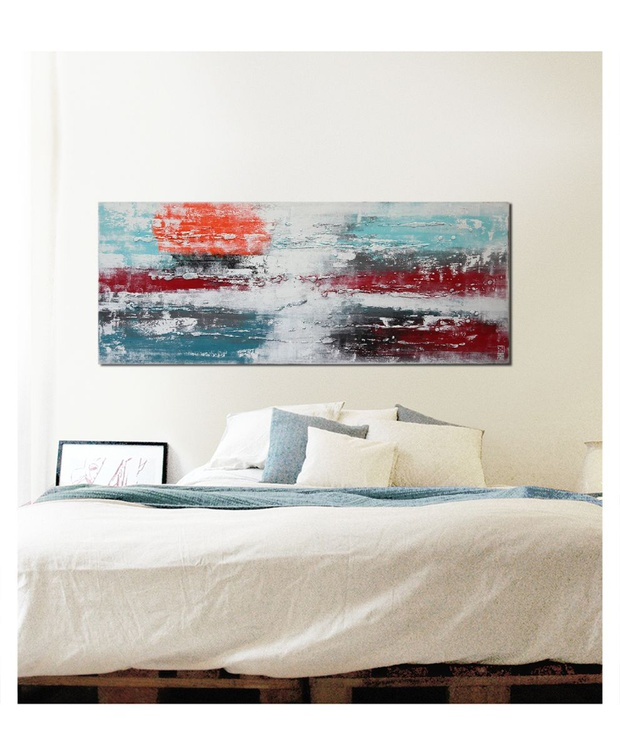 Abstract Painting - White & White City Lights - C17 - Image 0