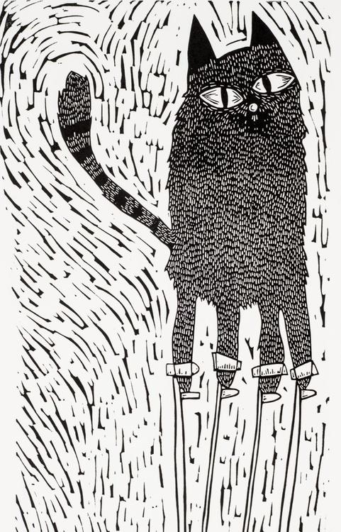 Big cat on stilts - Image 0