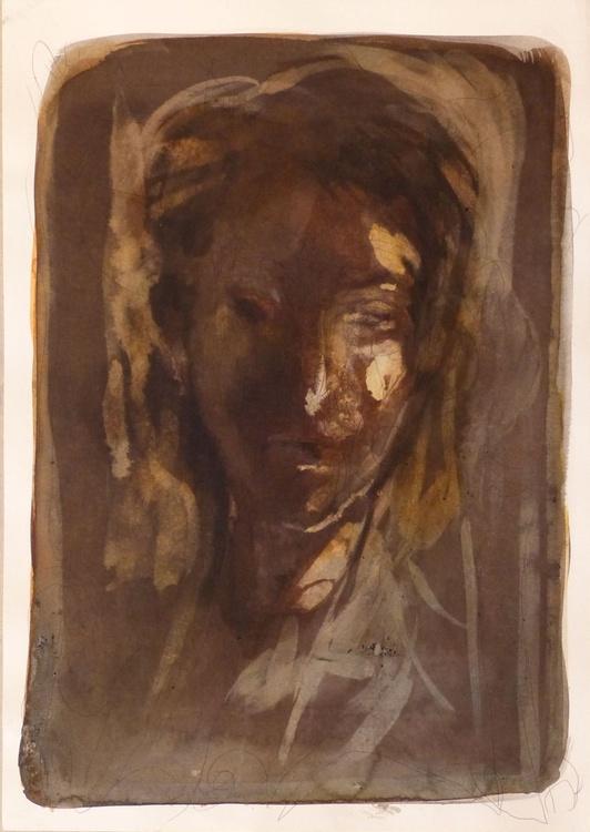 Portrait #1, 42x29 cm - Image 0