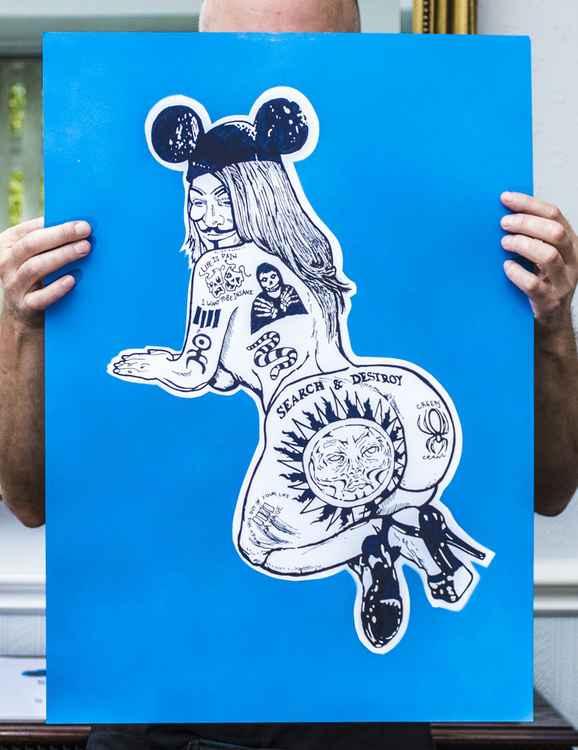 Big Blue Who's Tattoo