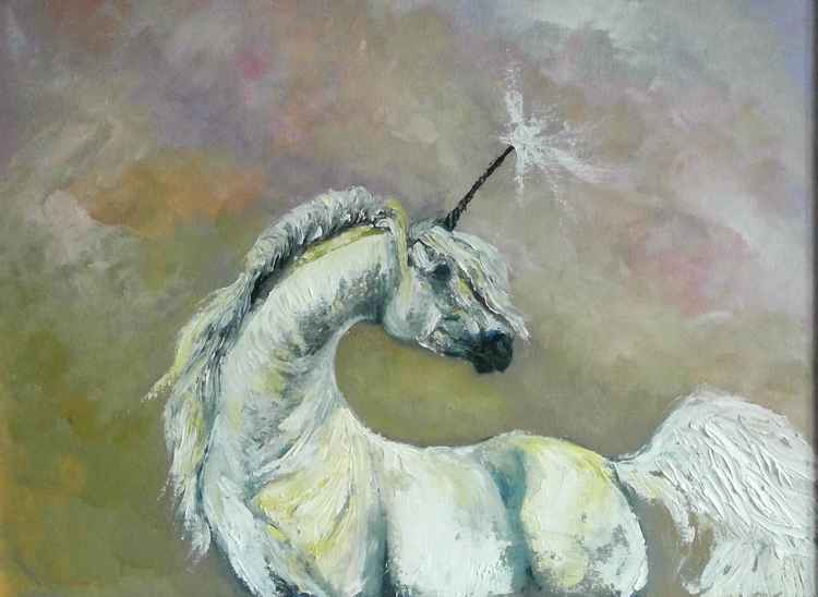 Unicorn 'see you in my dreams' -
