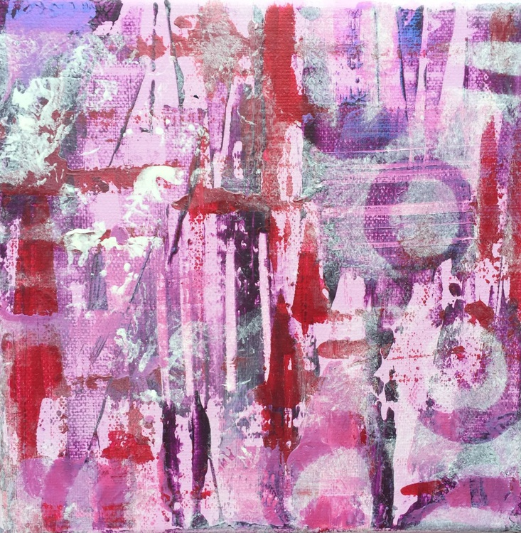 Abstract in pink - Image 0