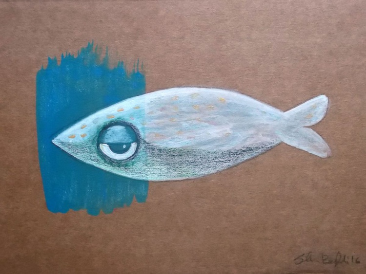 The little white fish - Image 0