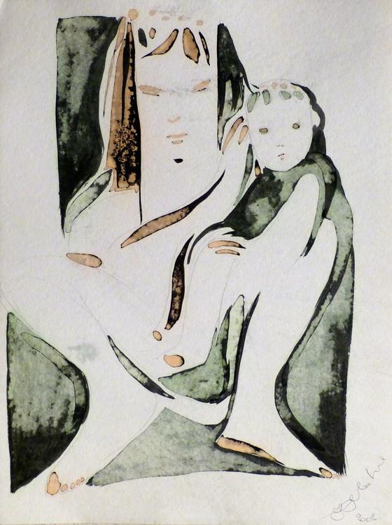 Maternity 7, 36x48 cm - Image 0