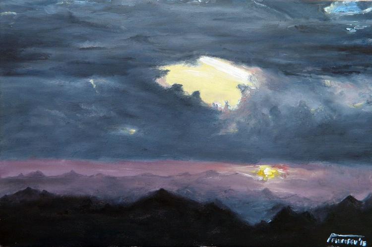 Sunset on Ceahlau - Image 0