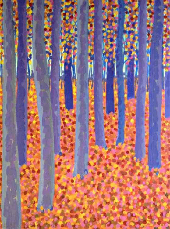 Original Painting of 'Indian Summer' by Kirstin Wood