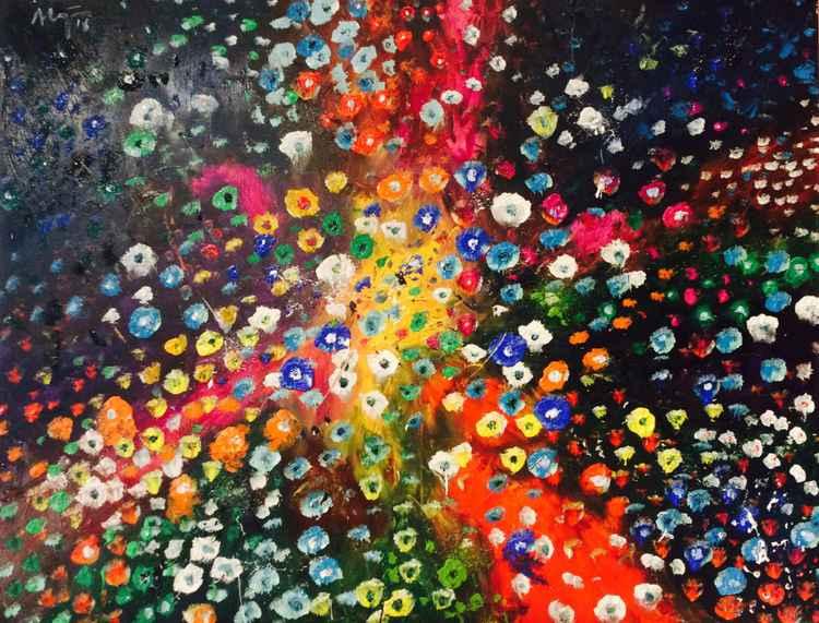 Ocean of flowers XIV