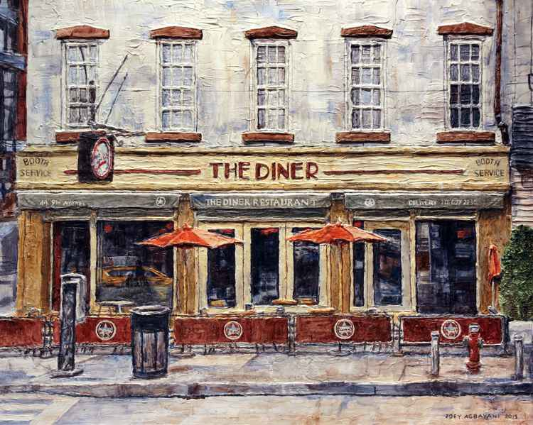 Diner On West 14th Street -
