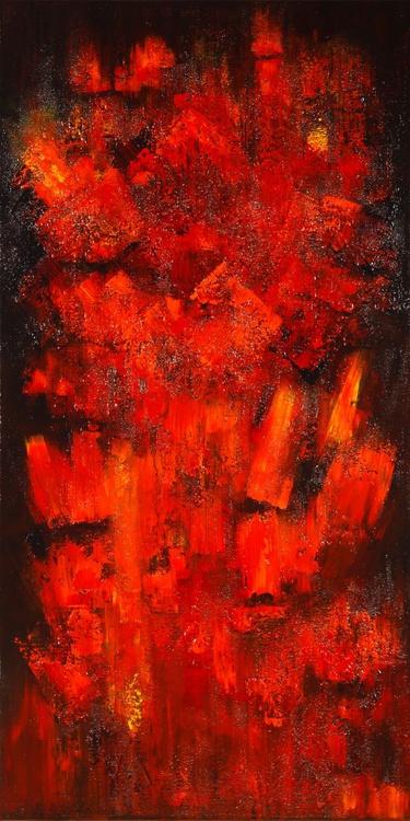 Fire Flames #15004 (100x50cm) - Image 0