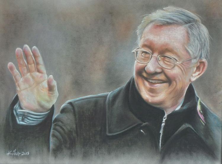Sir Alex Ferguson - Portrait 4 - Image 0