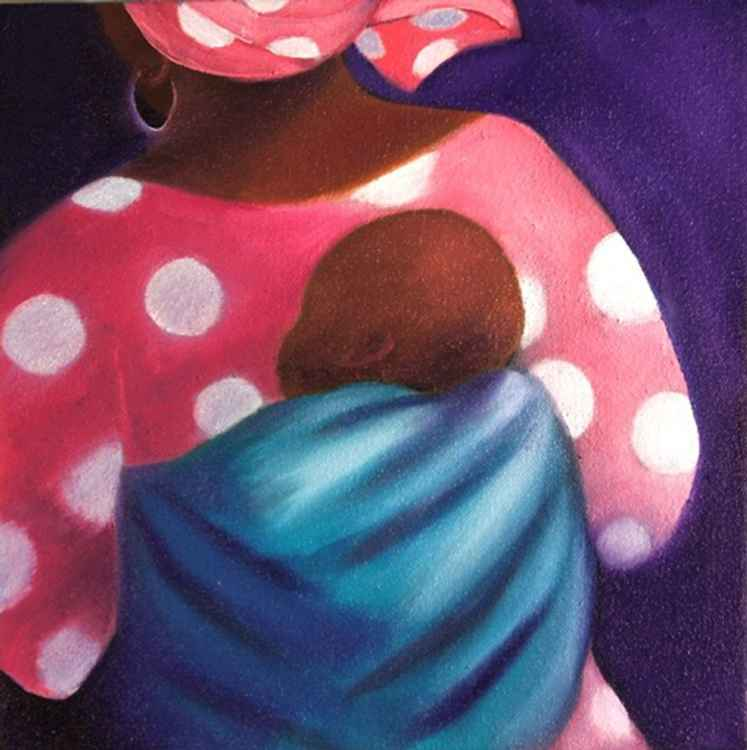 Africa Journal: Ststrwetla Mother and Baby -