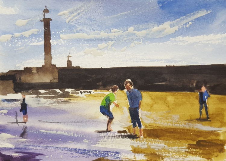 Games on the beach: yet more fun at Whitby - Image 0