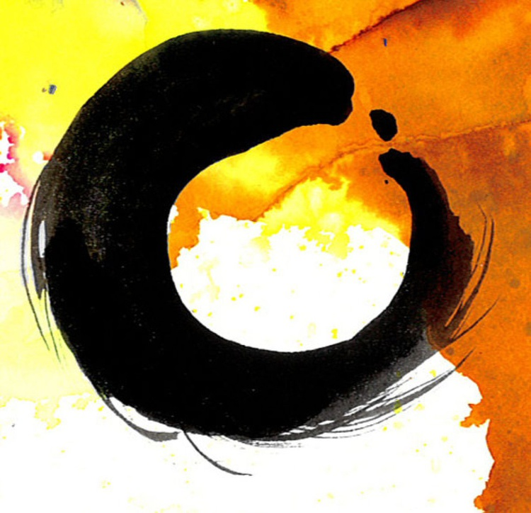 Enso Zen Circle No. 18 - Image 0